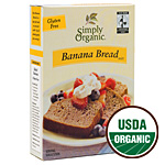 Certified Organic Banana Bread Mix 10 oz.