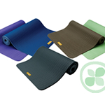 Eco Friendly Yoga Mat (Sky Ocean / Blue 5mm)