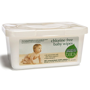 Baby Wipes Tub 80 count